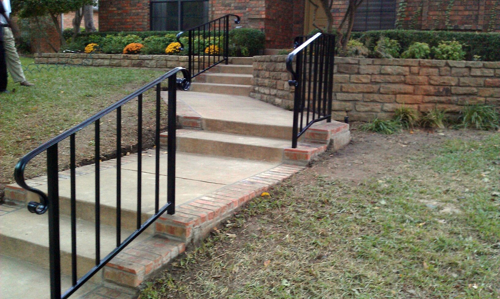 Handrails Dallas | Iron Rails Dallas | Dallas Fence Company ...