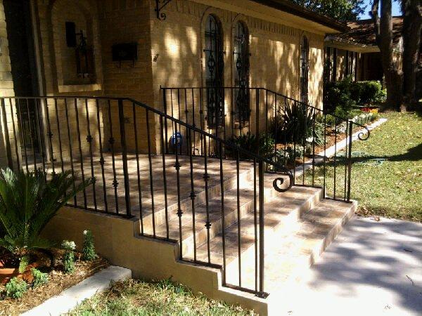Handrails Dallas Iron Rails Dallas Dallas Fence