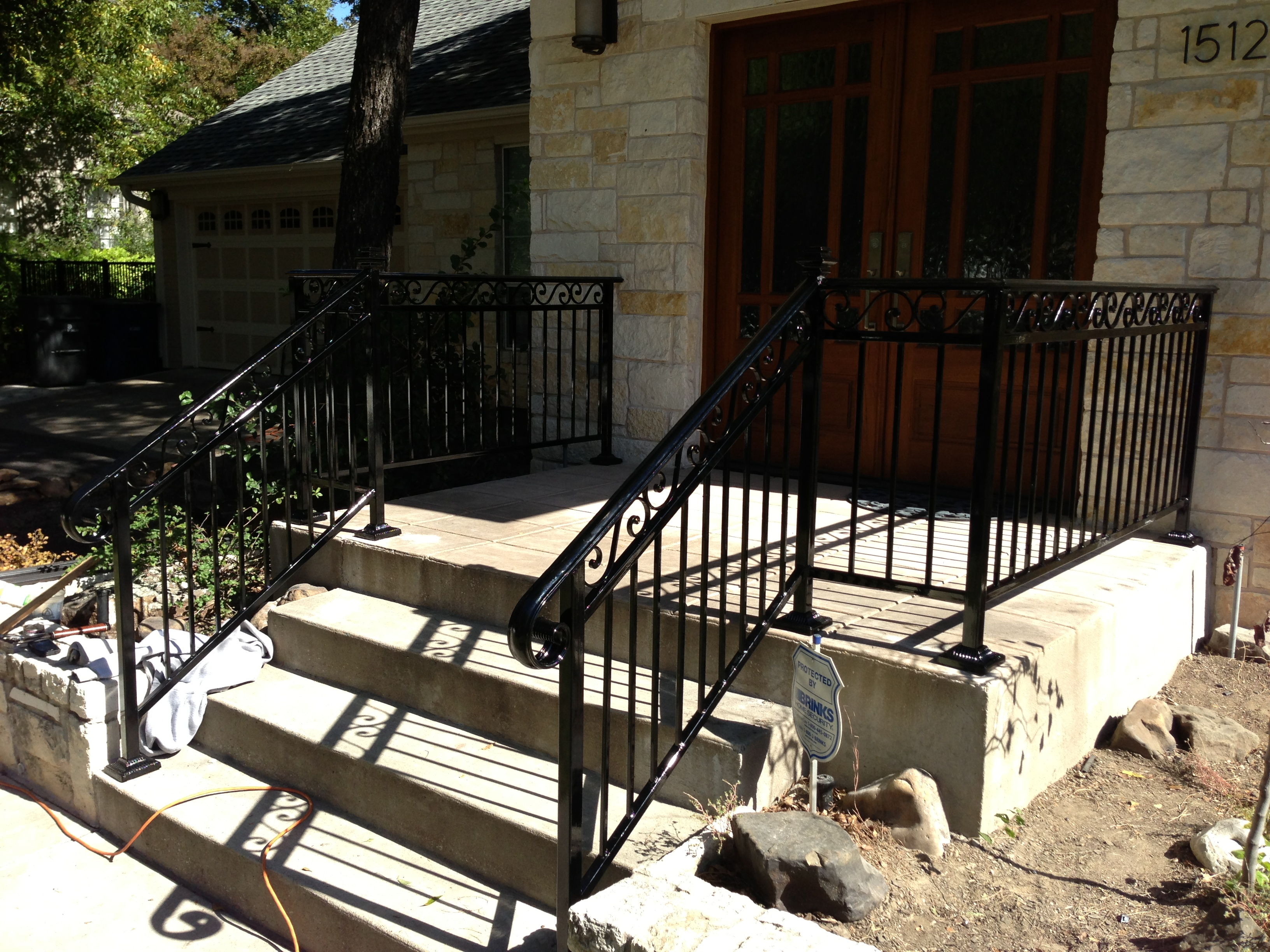 Handrails Dallas Iron Rails Dallas Dallas Fence