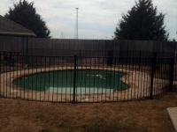 4 ft pool fence