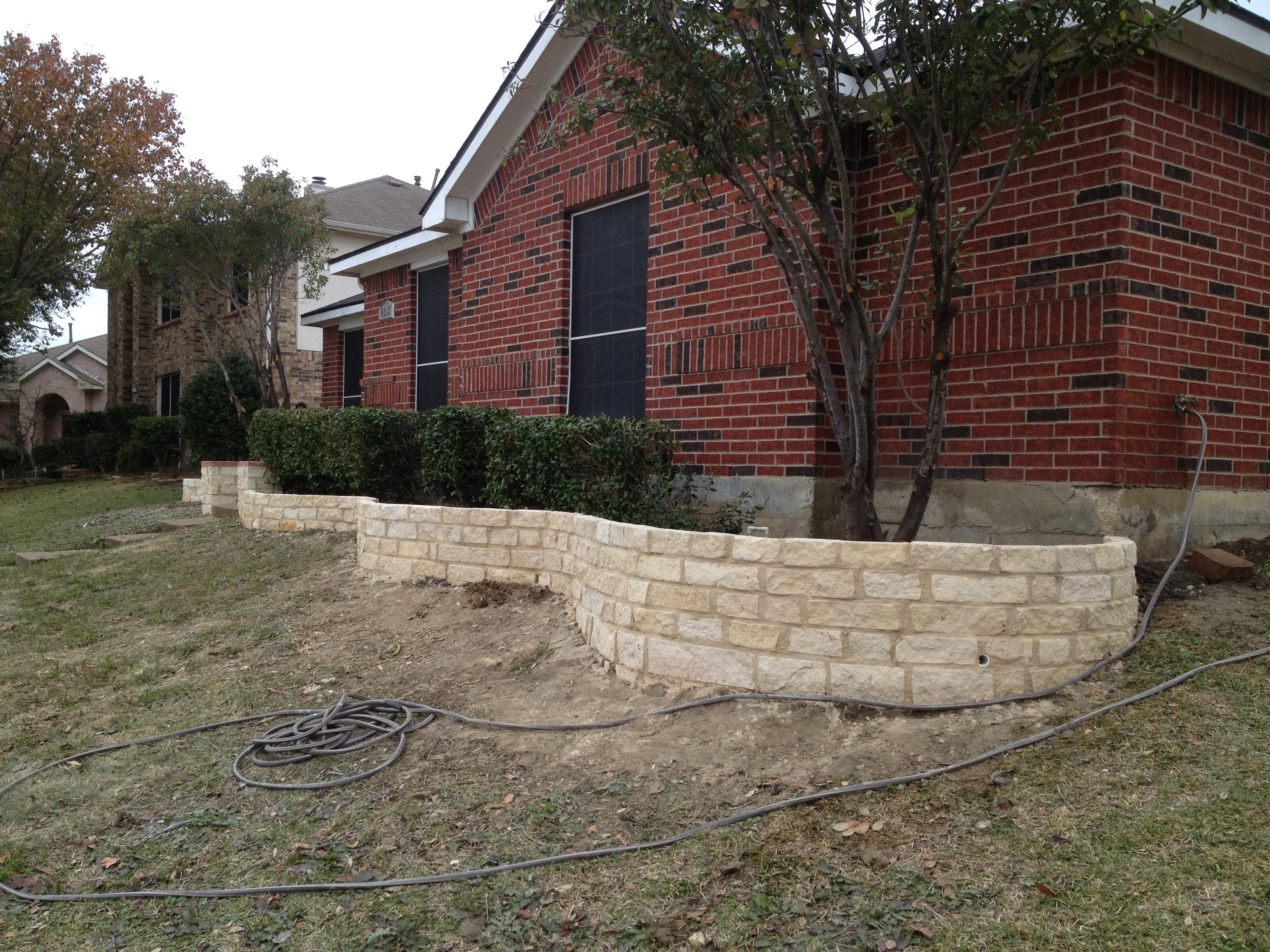 Retaining Wall Dallas Dallas Stone Wall Dallas Fence
