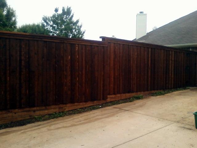 Wood Fence Dallas Fence Company Dallas Dallas Fence