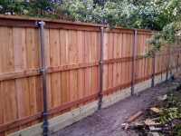 Six foot cedar fence solutions