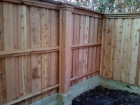 Custom cedar fence solutions