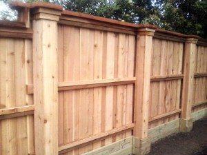 Cedar Fence Construction