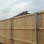 Spruce Fence from Robitzsch Dallas fence company