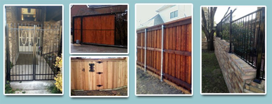 Collages-fence